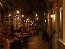 Restaurant Street (Ermoupolis, Syros) von Themis