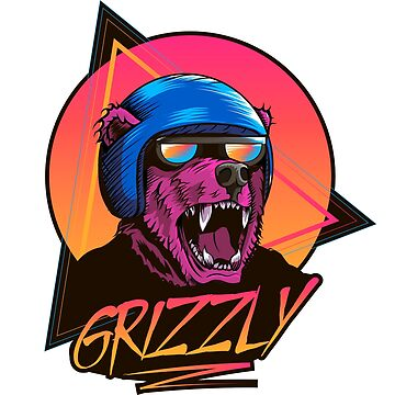 Grizzly Biker by Nocturnalcultur