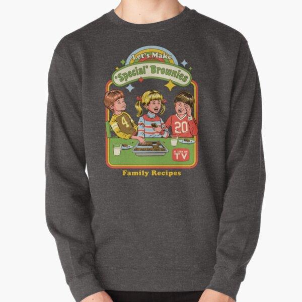 Let's Make Brownies Pullover Sweatshirt