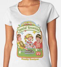 Lass uns Brownies machen Frauen Premium T-Shirts