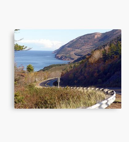 Road to the Highlands Canvas Print