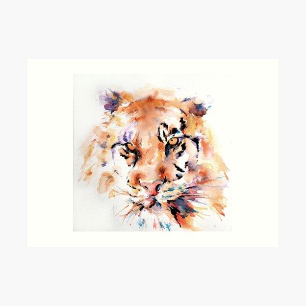 Panthera Tiger I Art Print