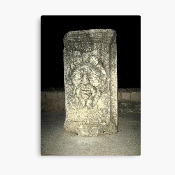 OLD ROMAN GOD Canvas Print