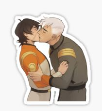 Garrison Kiss v2 (Left) Sticker