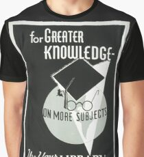 Use Your Library Graphic T-Shirt