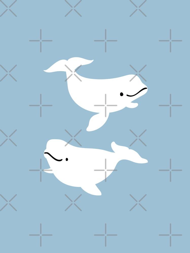 Beluga whale  by Miri-Noristudio