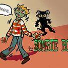 Zombie boy by BATKEI