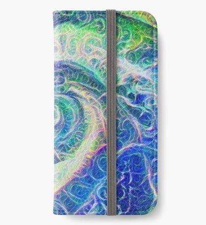 Vortex dragon #DeepDream B iPhone Wallet