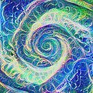Vortex dragon #DeepDream B by blackhalt