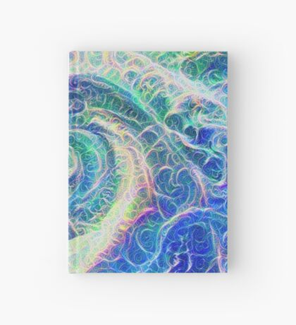 Vortex dragon #DeepDream B Hardcover Journal