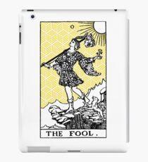 Geometric Tarot Print - The Fool iPad Case/Skin
