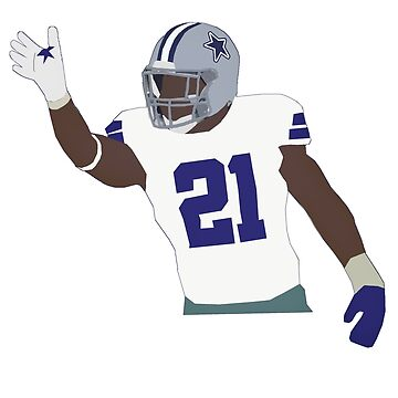 Ezekiel Elliot - Dallas Cowboys by xavierjfong