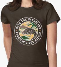 Rette die Pangolins, Pangolin lebt von Bedeutung Tailliertes T-Shirt