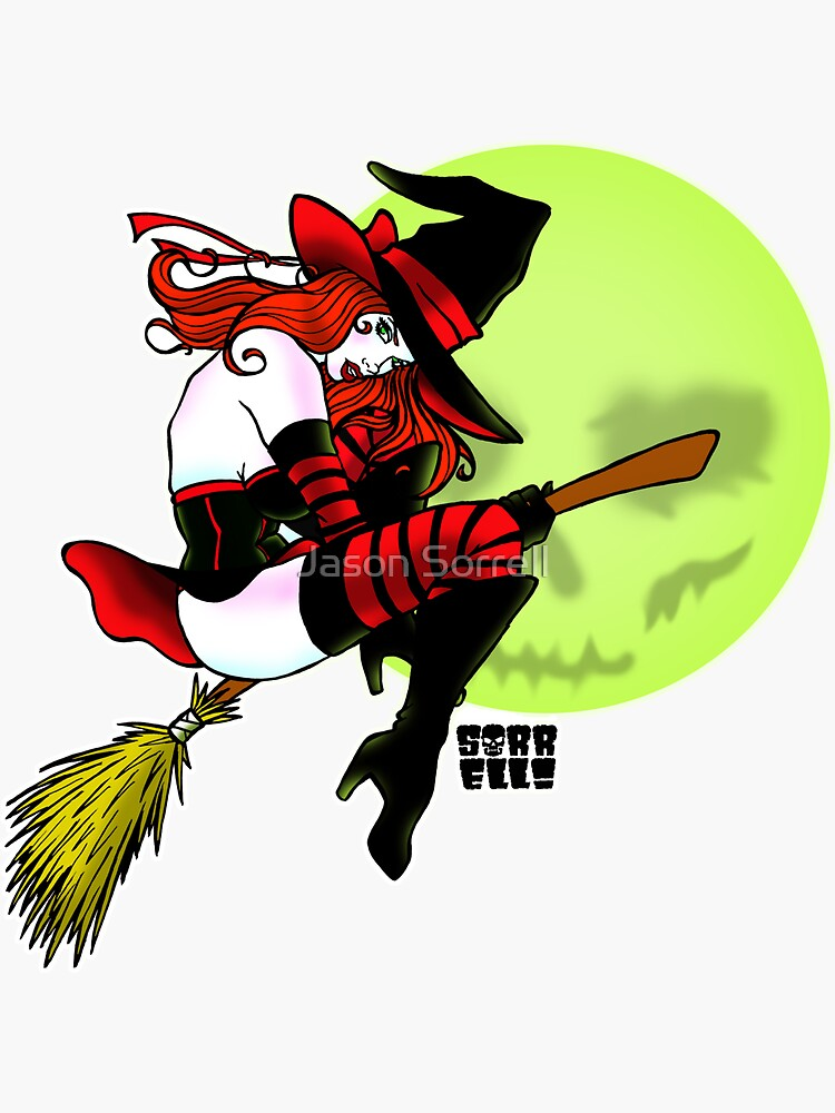 Halloween Witch by jasonsorrell