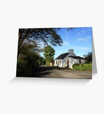 Rural Clare cottage Greeting Card