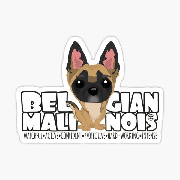 Belgian Malinois - DGBighead Sticker