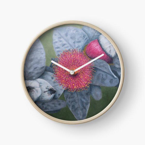 Eucalyptus Macrocarpa Clock