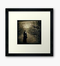 Come, eat from my orchard... Framed Print