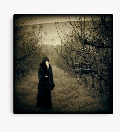 Come, eat from my orchard... Canvas Print