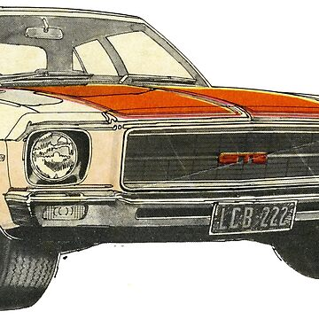 The HQ Monaro V8. One Tough Aussie by taspaul