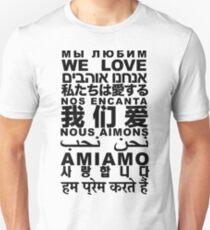 Yandhi - We Love In All Languages Unisex T-Shirt