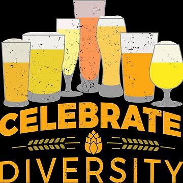 Celebrate Diversity - beers beer flavor by anziehend