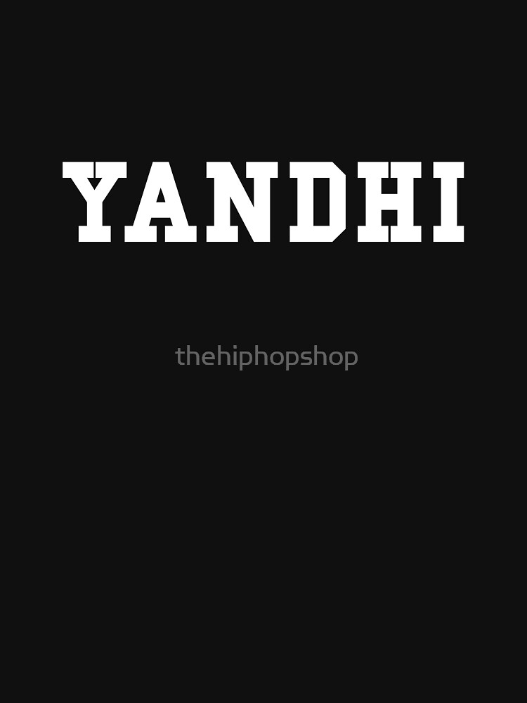Yandhi by thehiphopshop