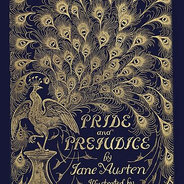 Pride and Prejudice Jane Austen First Edition Book Cover by buythebook86