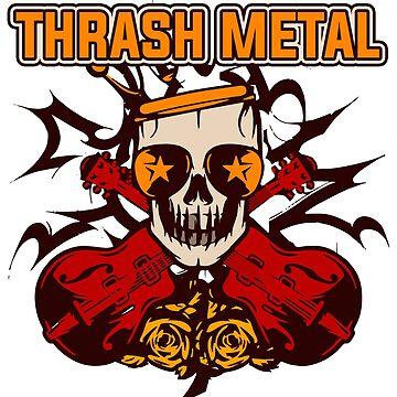 Thrash Metal by 0815-Shirts