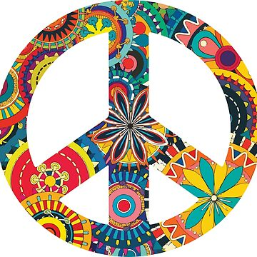 Peace Sign by Illustreats
