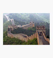 Chine 中国 - The Great Wall 长城 Photographic Print