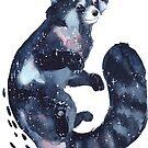 « Watercolor Galaxy Red Panda » par Threeleaves