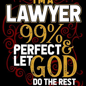 Lawyer god by GeschenkIdee