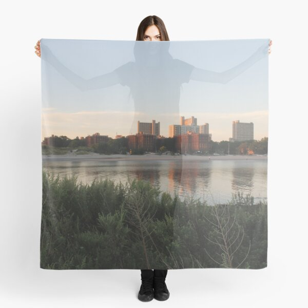 #city #skyline #water #cityscape #urban #river #downtown #sky #panorama #building #architecture #buildings #park #skyscraper #blue #view #reflection #sunset #lake #travel #town #sunrise #landscape Scarf