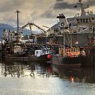 Ullapool Harbour by Jamie  Green