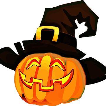 Halloween Pumpkin Hat by MartinV96