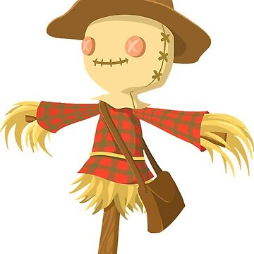 Halloween Cute Scarecrow by MartinV96