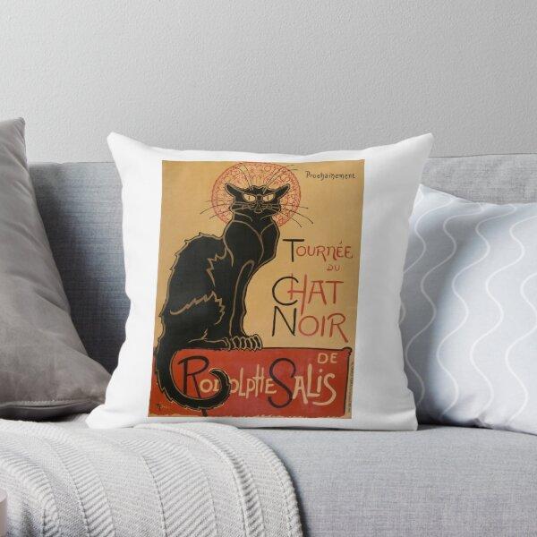 TOUR OF BLACK CAT Throw Pillow