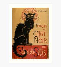 TOUR OF BLACK CAT Art Print