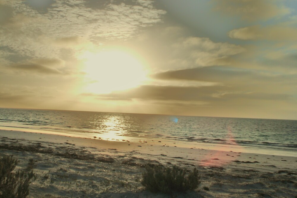 sunrise on the bight, eucla by spiritofthebush