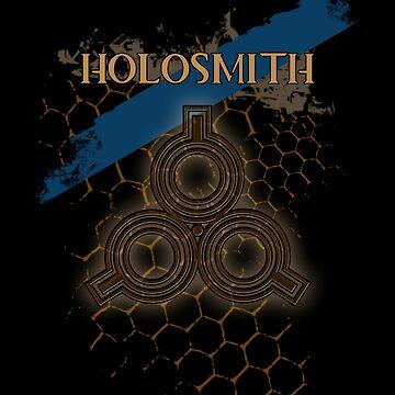 Guild Wars 2 PoF - Engineer Holosmith (Ingeniero Holoartesano) by HelenFerroni