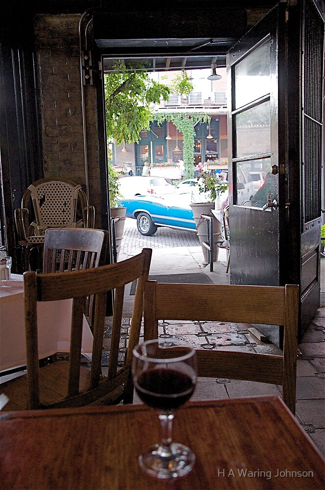 French Restaurant View by H A Waring Johnson