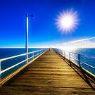 A day on the pier by Peter Doré