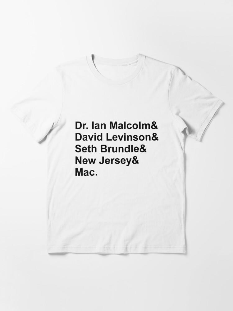 Alternate view of Jeff Goldblum Characters Essential T-Shirt