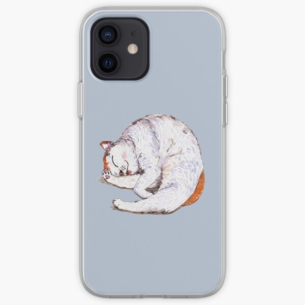 Tommy the Furball is Sleeping iPhone Soft Case