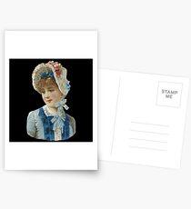 Victorian girl Postcards