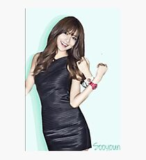 snsd- sooyoung Photographic Print