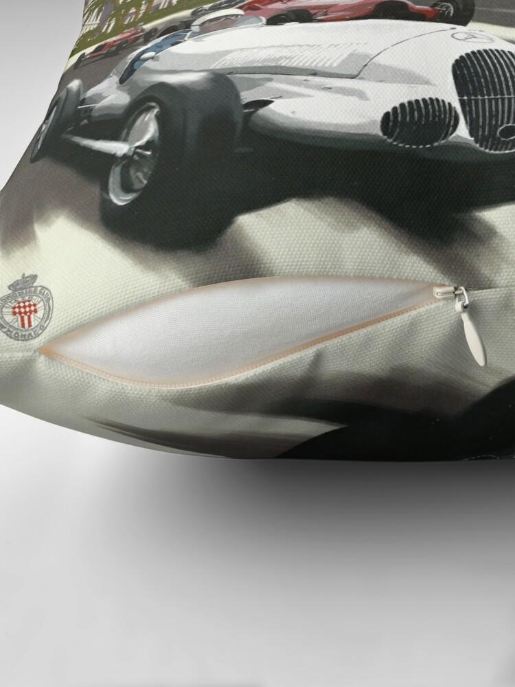 Alternative Ansicht von Retro Plakat Grand Prix von Monaco 1929 Bodenkissen