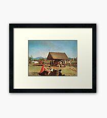 Cider Making by William Sidney Mount 1841 Framed Print