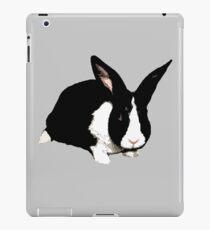 BLACK RABBIT CUTE  iPad Case/Skin